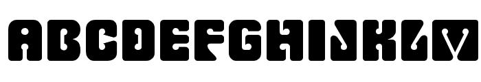 Fillmore Regular Font LOWERCASE