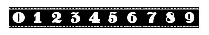 Film Letters Filled Regular Font OTHER CHARS