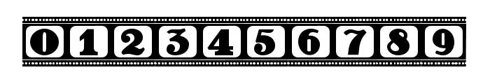 Film Letters Regular Font OTHER CHARS