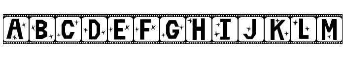Film Star Font UPPERCASE