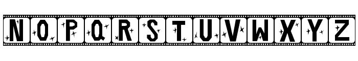 Film Star Font LOWERCASE