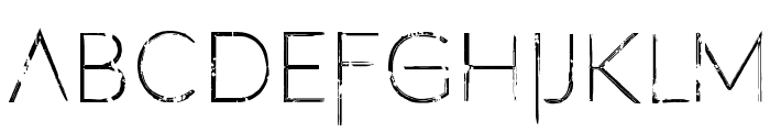 Filth of Icarus 2 Font LOWERCASE