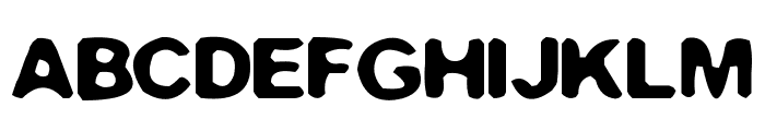 Filthy Habits Font UPPERCASE