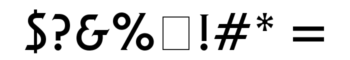 Final Frontier Font OTHER CHARS
