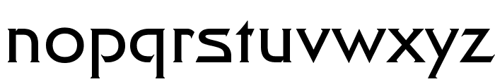 Final Frontier Font LOWERCASE