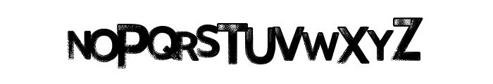 FinalRelief Font UPPERCASE