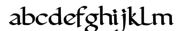 FinalRoman Medium Font LOWERCASE