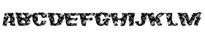 FinalSlash Font UPPERCASE