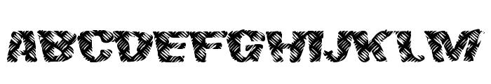 FinalSlash Font LOWERCASE