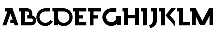 Finchley Font UPPERCASE