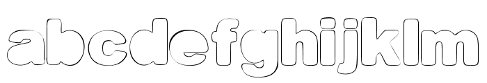 Fine Homage Font LOWERCASE
