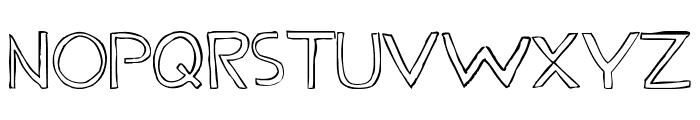 Fine LineRegular Font UPPERCASE
