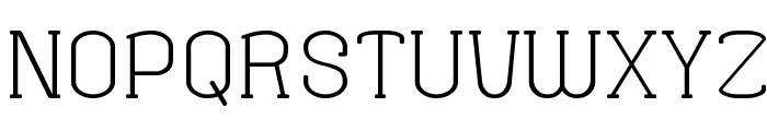 Fine Serif Hosomozi__G Font UPPERCASE