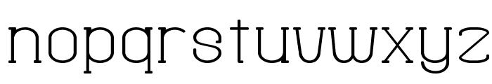 Fine Serif Hosomozi__G Font LOWERCASE