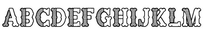 Fine Sheriff Font UPPERCASE