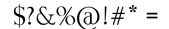 Fine Style Font OTHER CHARS