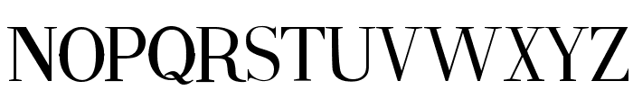 Fine Style Font LOWERCASE