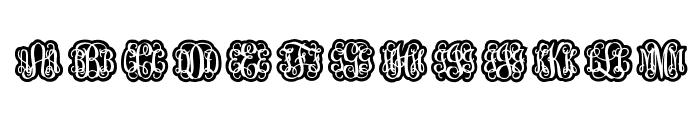 Finegramos Font UPPERCASE