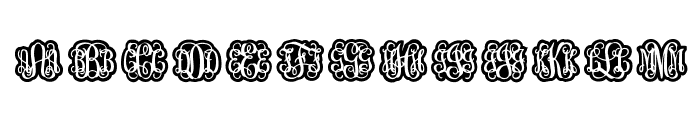 Finegramos Font LOWERCASE