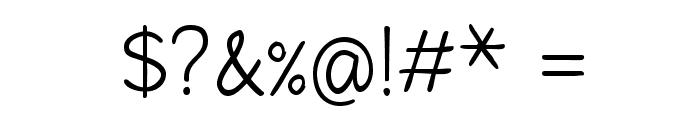 Fineliner Script Font OTHER CHARS