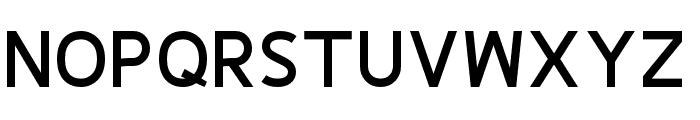 Fineness Pro Black Font UPPERCASE