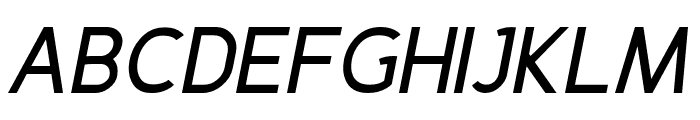 Fineness Pro Bold Italic Font UPPERCASE