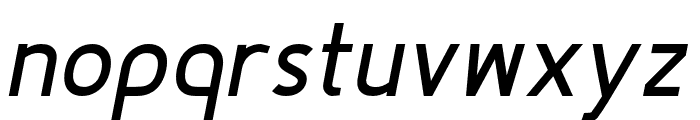 Fineness Pro Bold Italic Font LOWERCASE