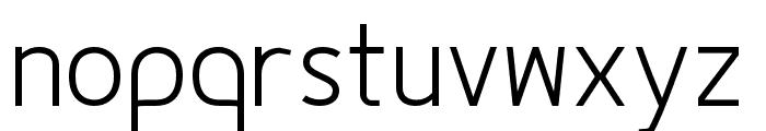 Fineness Pro Light Font LOWERCASE