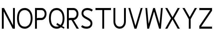 Fineness Pro Regular Cond Font UPPERCASE