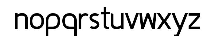 Fineness Regular Font LOWERCASE