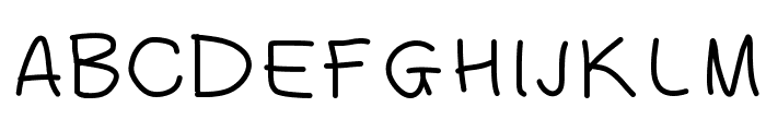 Fingeferanna Font UPPERCASE