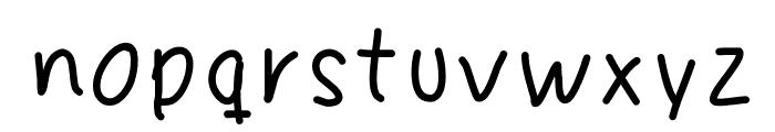 Fingeferanna Font LOWERCASE