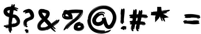 FingerPaint Font OTHER CHARS