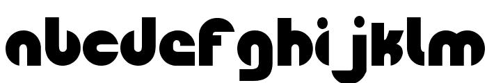 Fingerpop Font LOWERCASE