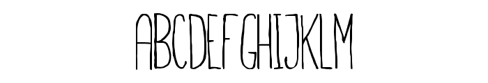Finita Font UPPERCASE