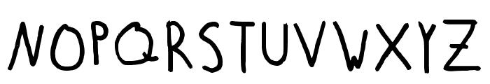 Finnish Lines Regular Font UPPERCASE