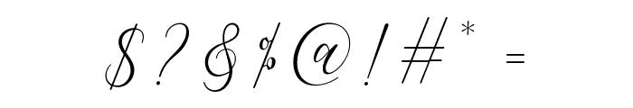 FiolenitaScript Font OTHER CHARS