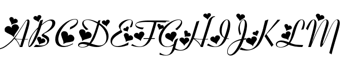 Fiolex Girls Font UPPERCASE