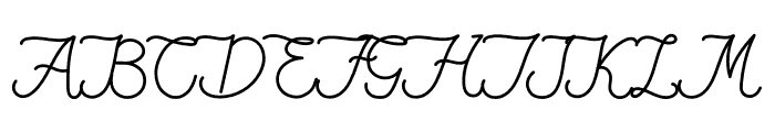 Fiona Lattina Font UPPERCASE