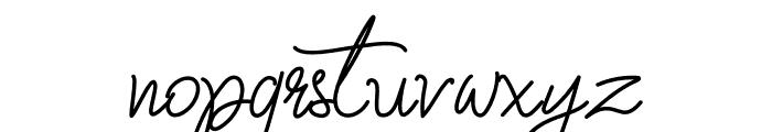 Fiona Lattina Font LOWERCASE