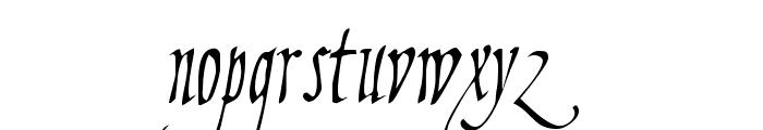 Fiorenza II Font LOWERCASE