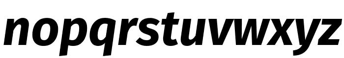Fira Sans Bold Italic Font LOWERCASE