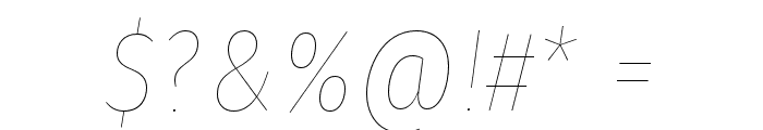 Fira Sans Condensed Eight Italic Font OTHER CHARS