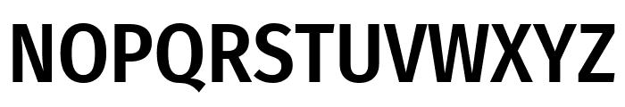 Fira Sans Condensed Medium Font UPPERCASE