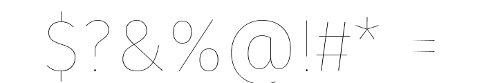 Fira Sans Eight Font OTHER CHARS