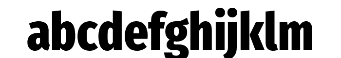 Fira Sans Extra Condensed ExtraBold Font LOWERCASE