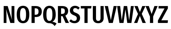 Fira Sans Extra Condensed Medium Font UPPERCASE