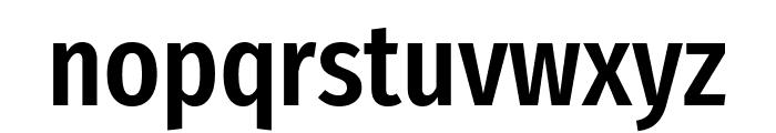 Fira Sans Extra Condensed Medium Font LOWERCASE