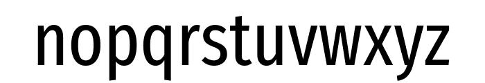 Fira Sans Extra Condensed Regular Font LOWERCASE