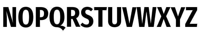 Fira Sans Extra Condensed SemiBold Font UPPERCASE